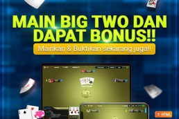 PROMO CASHBACK TURNOVER 1 % SPECIAL BIG TWO di RGOBET