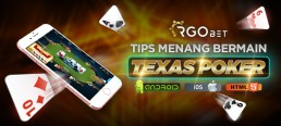 Tips Menang Bermain Texas Poker